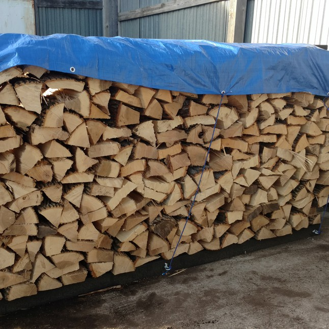 Firewood Bags And Bulk Landscape Supply Yard
